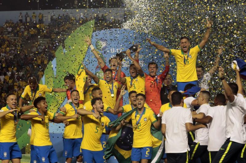 Brasil e Mexico Brasil-Copa do Mundo FIFA Sub-17 de 2019