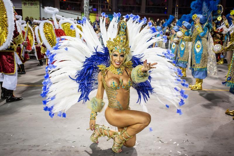 Águia de Ouro: Campeã do carnaval de São Paulo