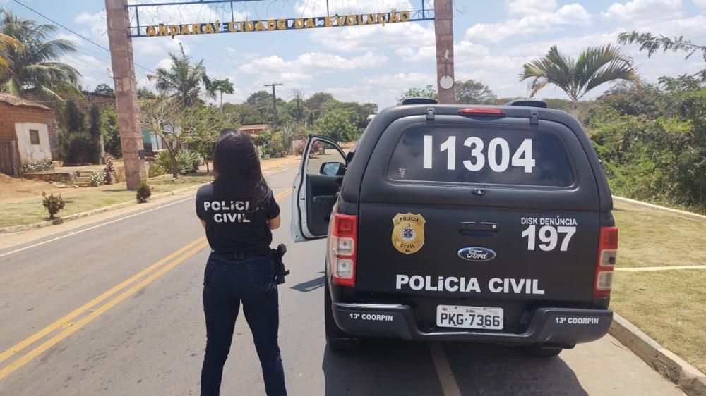 Suspeito de feminicídio e estupro é preso durante ação da polícia no município de Andaraí