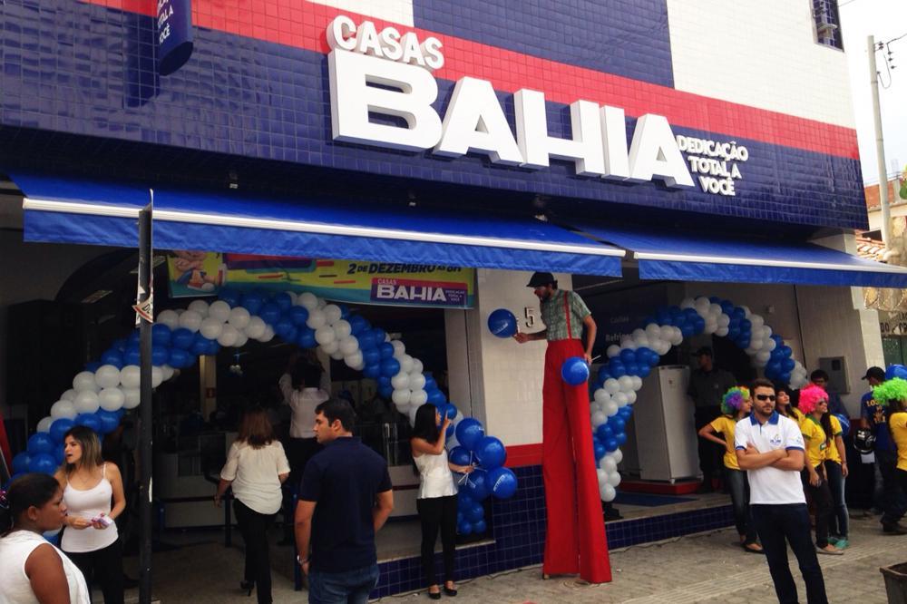 Casas Bahia são acionadas por problemas em vendas pela internet