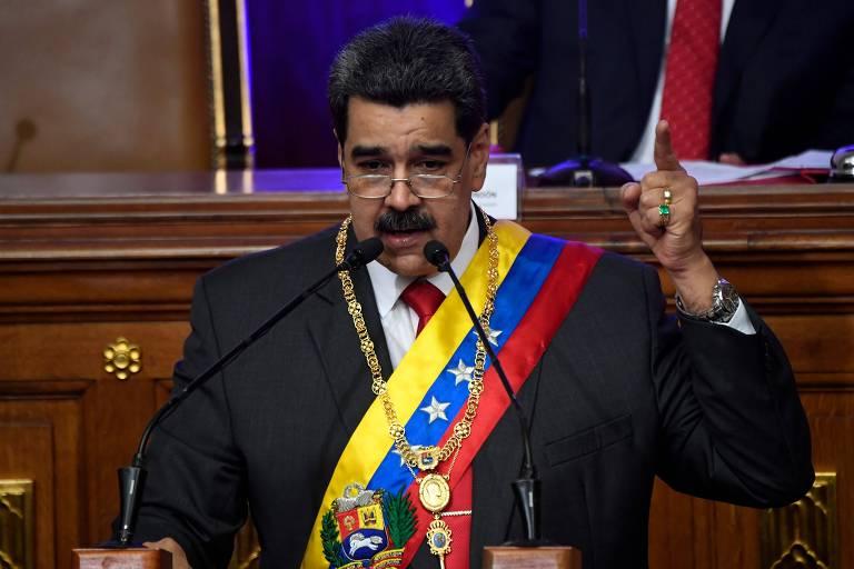 Maduro diz que está aberto a negociar com os Estados Unidos
