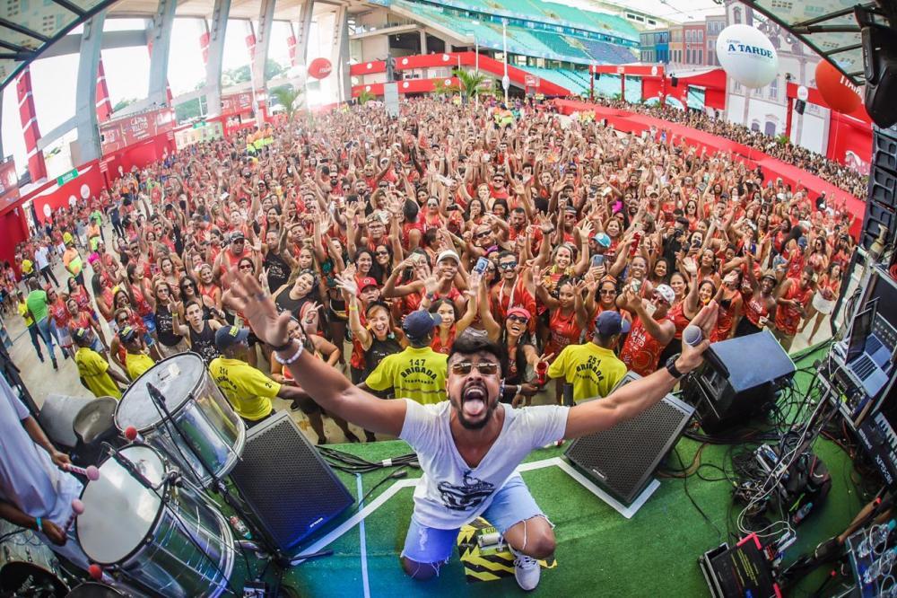 Quase 11 mil foliões vibram na Carnavalito 2020 na Itaipava Arena Fonte Nova