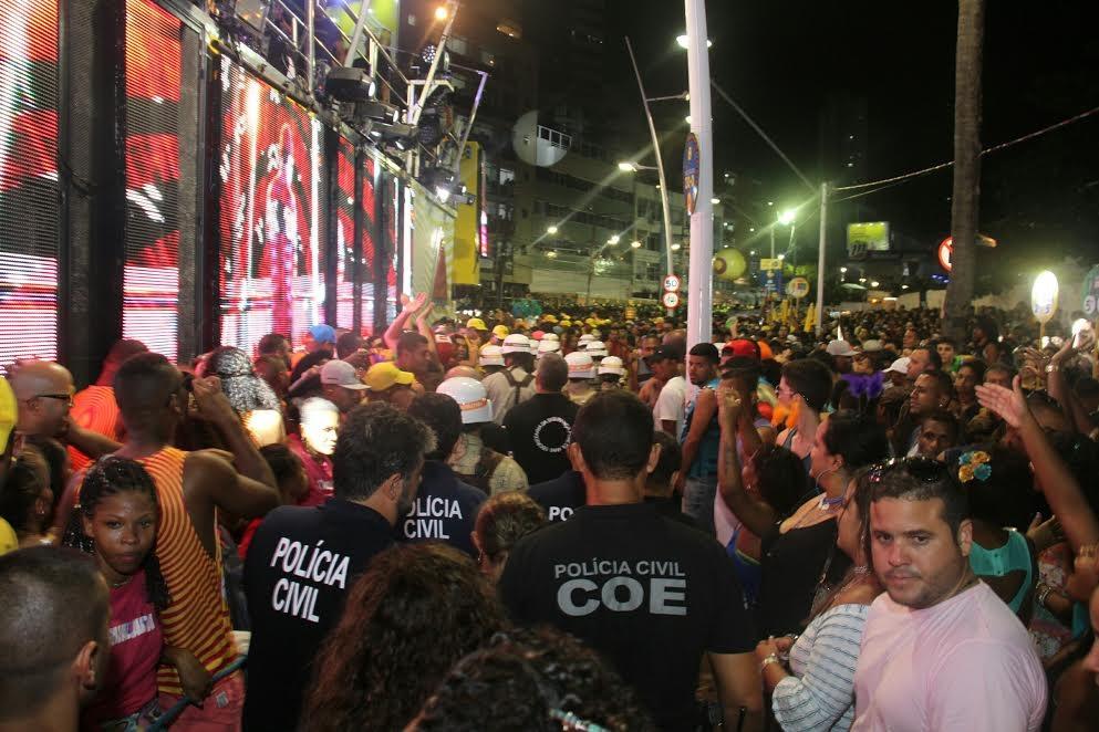 Trabalho de inteligência policial no Carnaval de Salvador contou com tecnologia