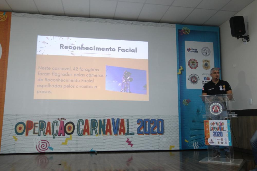 Reconhecimento Facial captura 42 foragidos no Carnaval de Salvador