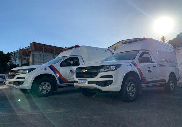 Governo da Bahia entrega 26 ambulâncias para apoiar combate ao coronavírus no interior