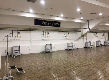 Hospital na Arena Fonte Nova deve ser aberto no dia 2 junho, projeta Fábio Vilas-Boas