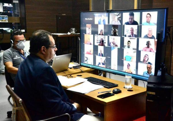 Governador sanciona auxílio a profissionais de saúde aprovado pela Alba