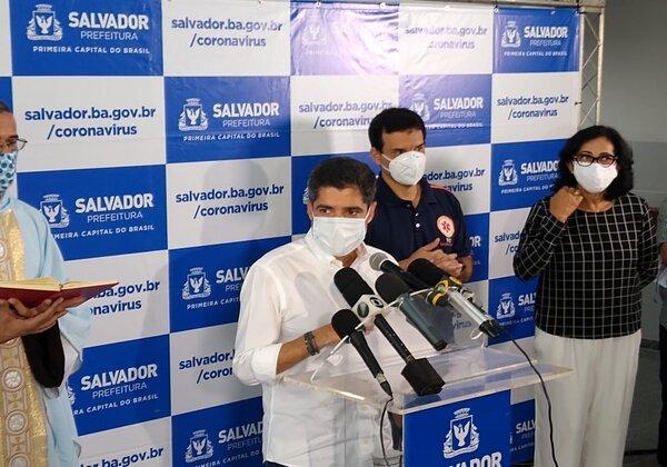 ACM Neto confirma chegada de 50 respiradores e anuncia medidas em Pau da Lima