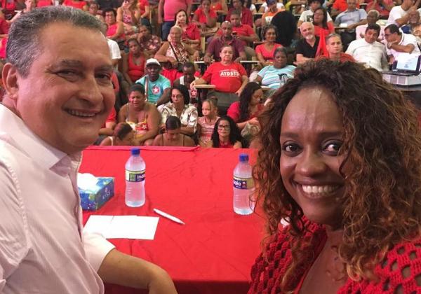 Denice elogia Isidório, mas nega definição sobre vice: 'Não estamos pontuando'