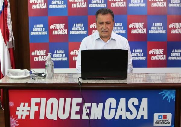 Bahia pode chegar a 3 mil mortes até o fim de julho, alerta Rui Costa