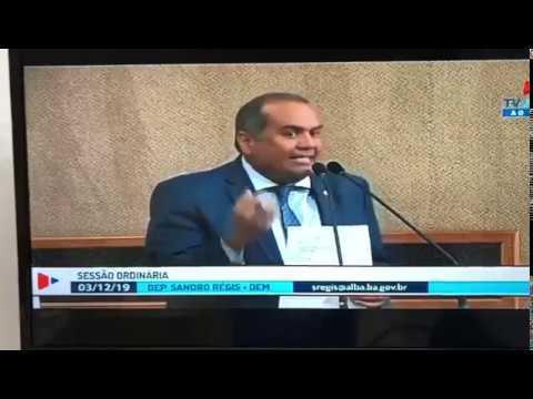 Deputado Sandro Régis ataca bancada governista: