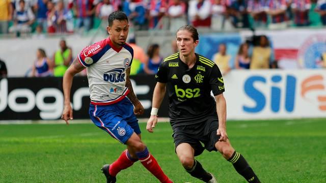 Veja os gols de Bahia 3 X 0 Flamengo